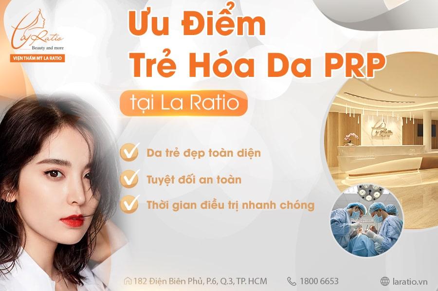 Phương pháp PRP trẻ hóa da sở hữu nhiều ưu điểm nổi trội