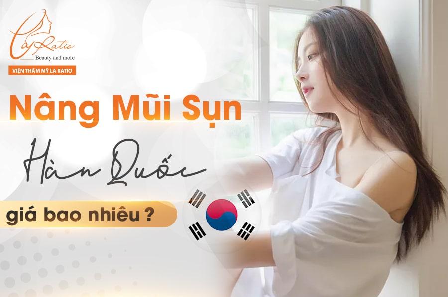 Nâng mũi sụn Hàn Quốc