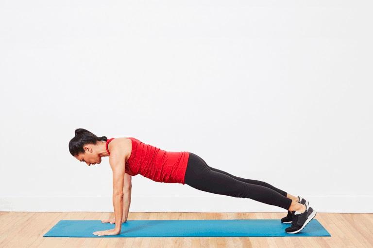 5 bài tập đánh tan mỡ thừa dưới cánh tay hiệu quả