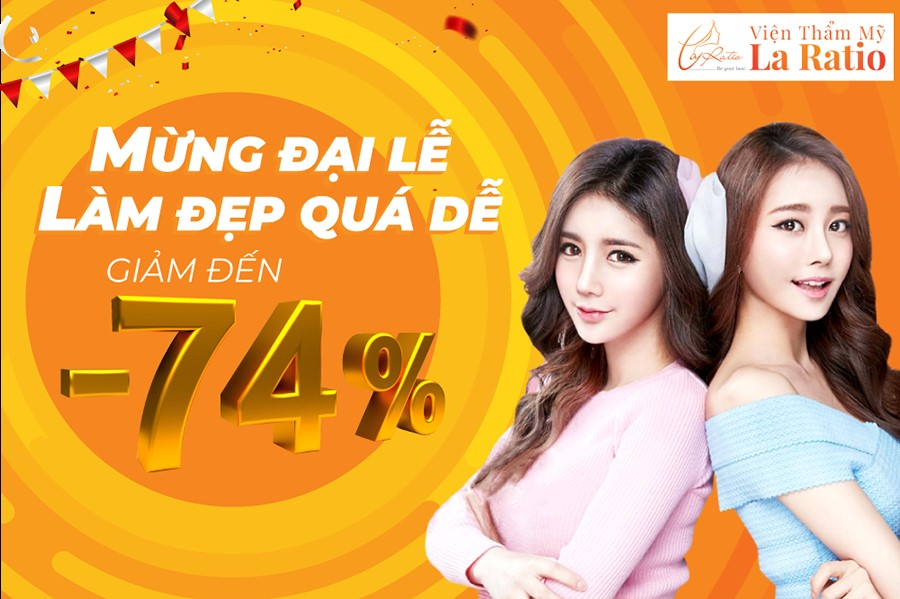ƯU ĐÃI TƯNG BỪNG MỪNG ĐẠI LỄ – SALE UP TO 74%
