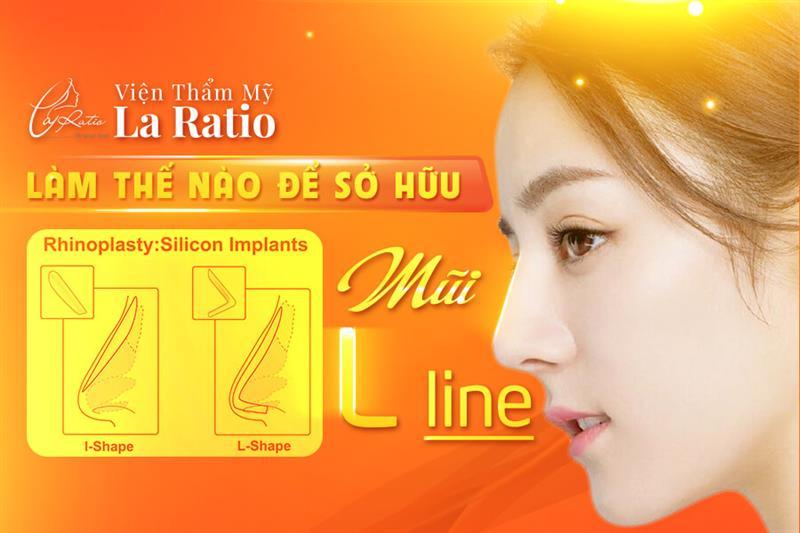 Nâng mũi L line là gì? Làm thế nào sở hữu mũi L line?