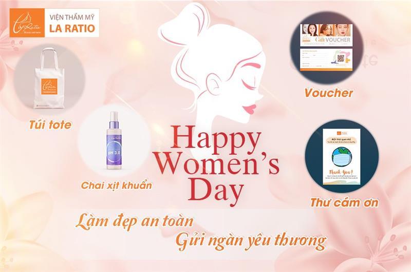 La Ratio mừng ngày Phụ Nữ Việt Nam